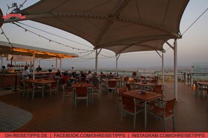 Die Außenalster Bar im Hafen von Dubai. Foto: Oliver Heider