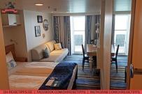Balkonkabine 9166 auf der Mein Schiff 3 von Tui Cruises. Foto: Oliver Heider