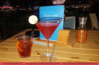 """Cocktails in der Open-Air-Location """"Überschaubar"""" auf Mein Schoff 3 von Tui Cruises. Foto: Oliver Heider"""