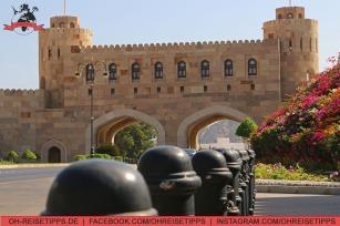 Das Muscat-Gate. Foto: Oliver Heider