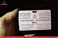 Willkommen im Hafen von Muscat im Oman. Dort bekommen Kreuzfahrt-Passagiere Landgangskarten. Foto: Oliver Heider