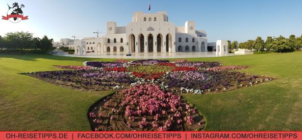 Das Opernhaus in Muscat. Foto: Oliver Heider