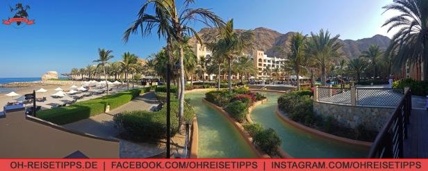 Das Shangri-La-Hotel nahe Muscat. Foto: Oliver Heider