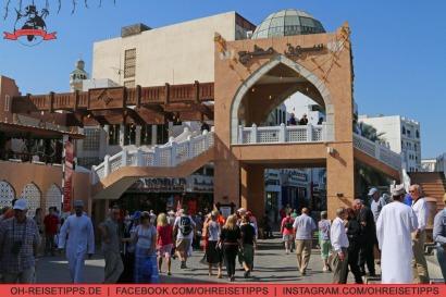 Der Souk im Zentrum von Muscat im Oman. Foto: Oliver Heider