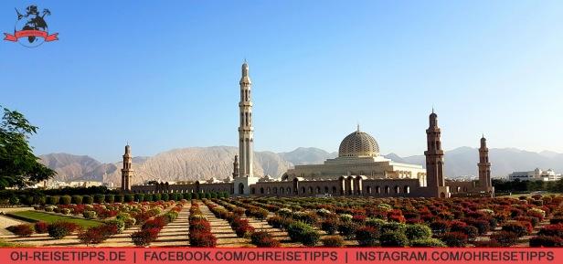 Die Sultan-Qaboos-Moschee in Muscat. Foto: Oliver Heider
