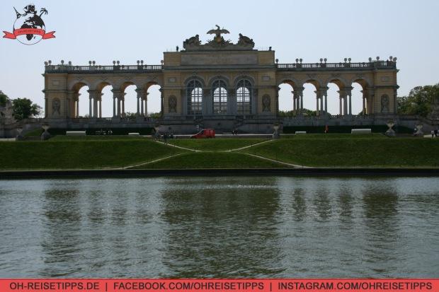 Die Gloriette im Schlosspark Schönbrunn. Foto: Oliver Heider
