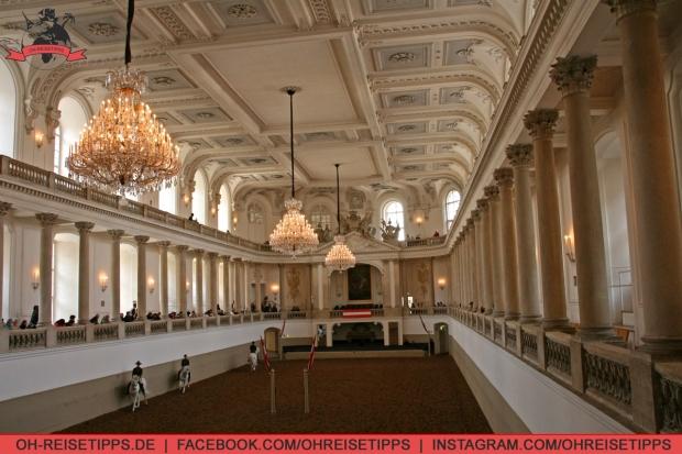 Spanische Hofreitschule in Wien. Foto: Oliver Heider