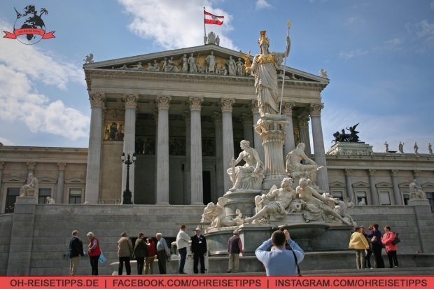 Parlamentsgebäude in Wien. Foto: Oliver Heider