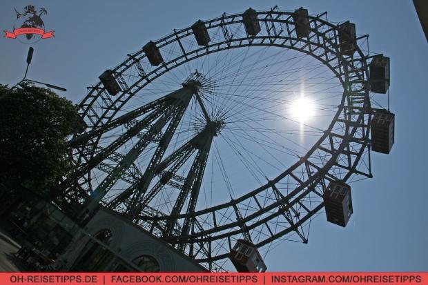 Riesenrad auf dem Wiener Prater. Foto: Oliver Heider
