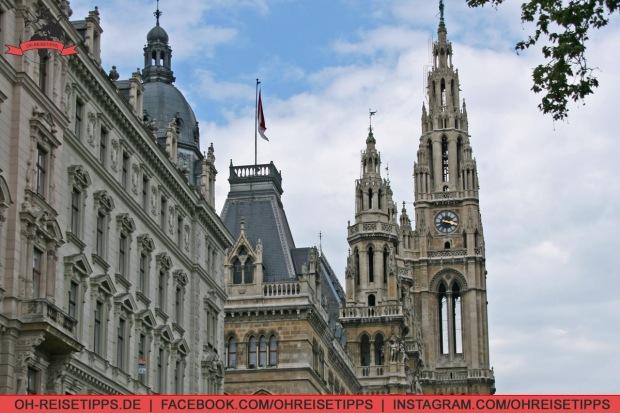 Das Rathaus in Wien. Foto: Oliver Heider